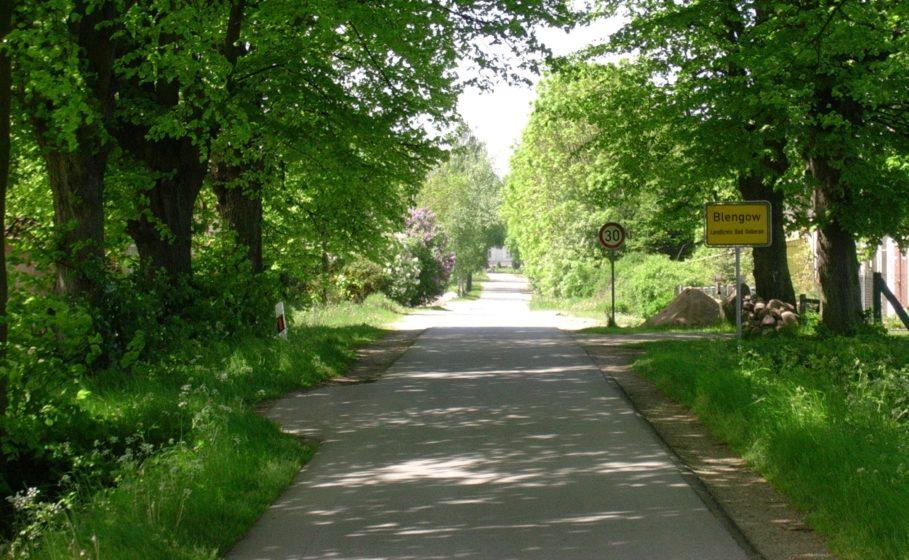 """Fahrt nach Ferienresidenz """"Am Salzhaff"""" in Blengow"""